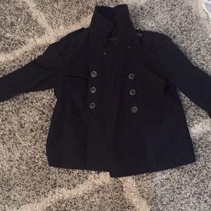 Banana republic black button jacket